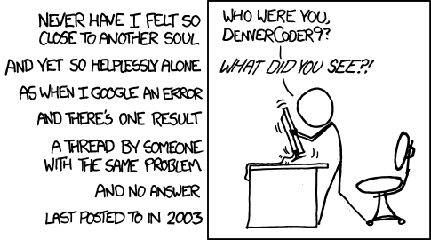 XKCD 979, Wisdom of the Ancients